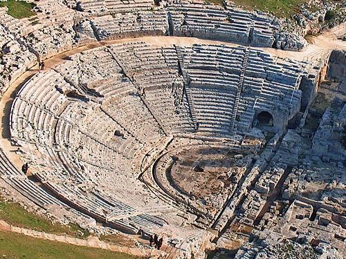 teatro greco di siracusa addauro resort siracusa